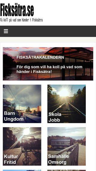 Mobile preview of fisksatra.se