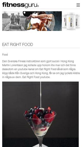 Mobile preview of fitness-protein.fitnessguru.com