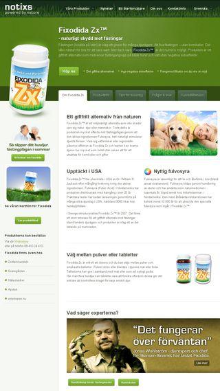 Mobile preview of fixodida.se
