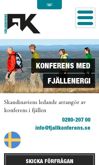 Mobile preview of fjallkonferens.se
