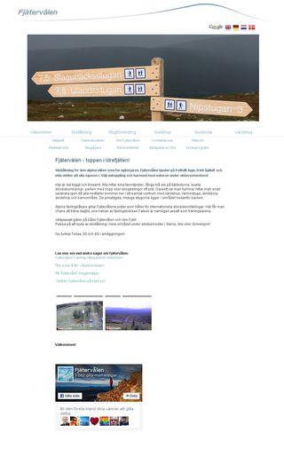 Mobile preview of fjallstuga.se