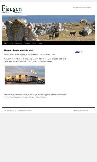 Mobile preview of fjaugen.se