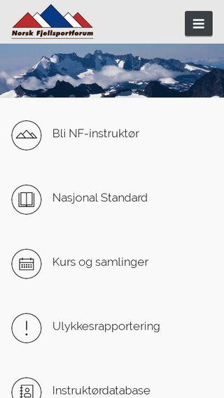 Mobile preview of fjellsportforum.no