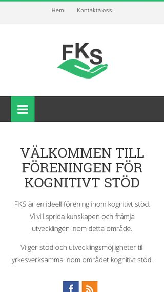 Mobile preview of fks.org.se