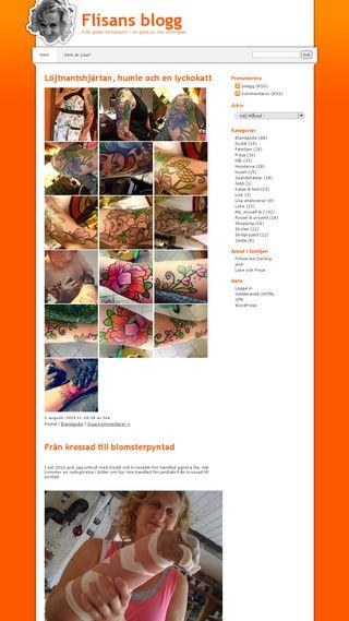 Mobile preview of flisanlisa.se