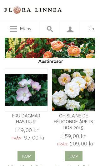 Mobile preview of floralinnea.se