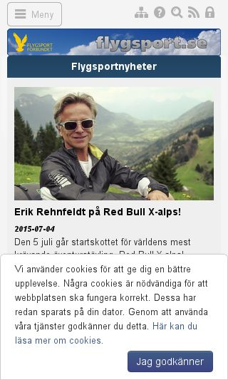 Mobile preview of flygsport.se