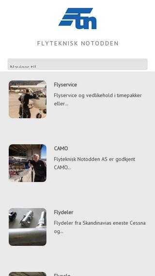 Mobile preview of flyteknisk.no