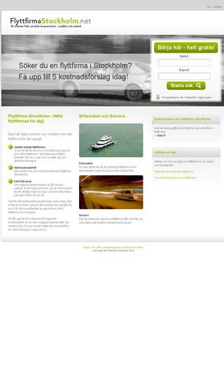 Mobile preview of flyttfirmastockholm.net