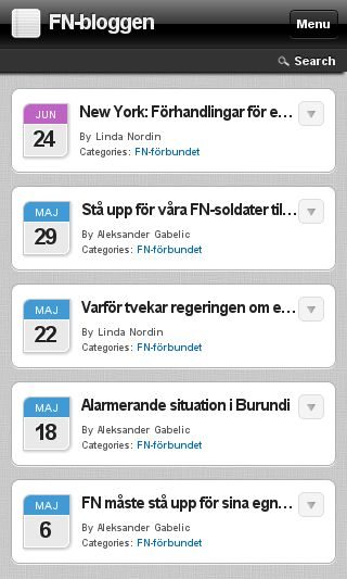 Mobile preview of fnbloggen.se