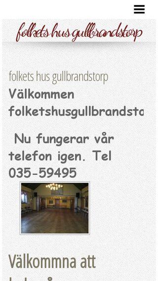 Mobile preview of folketshusgullbrandstorp.n.nu