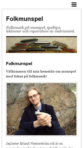 Mobile preview of folkmunspel.se