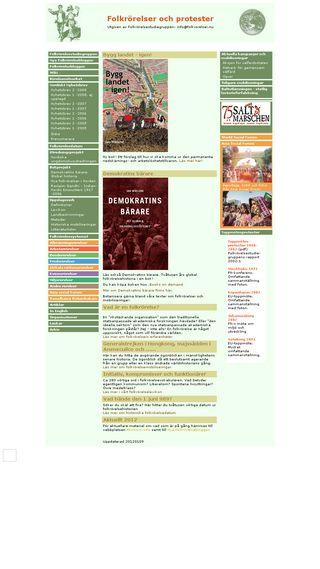 Mobile preview of folkrorelser.org