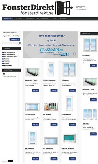 Mobile preview of fonsterdirekt.se