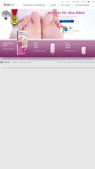 Mobile preview of footner.se