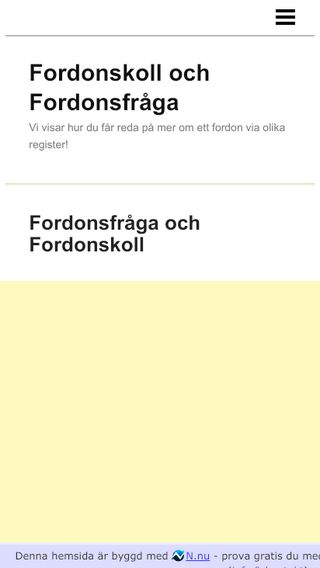 Mobile preview of fordonsagare.n.nu