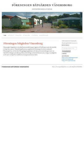 Mobile preview of foreningenbatgarden.n.nu
