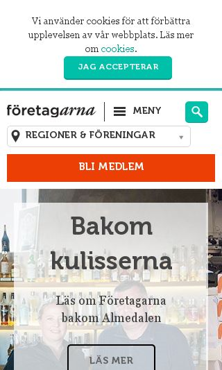 Mobile preview of foretagarna.se