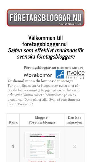 Mobile preview of allteleinternet.se