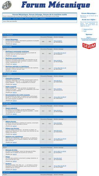 Mobile preview of forum-mecanique.net