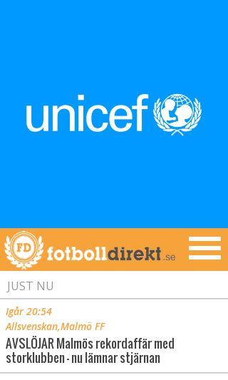 Mobile preview of fotbolldirekt.se