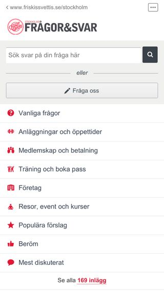 Mobile preview of fragorsvar.friskissthlm.se