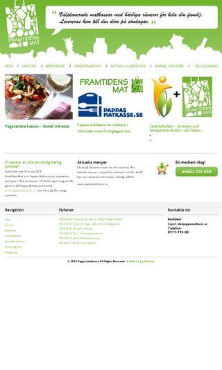 Mobile preview of framtidensmat.se