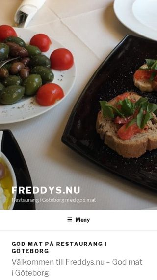 Mobile preview of freddys.nu