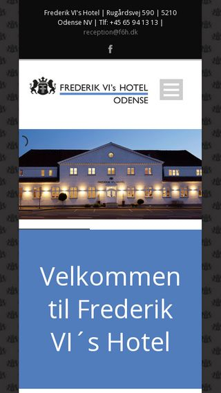 Mobile preview of frederik6hotel.dk