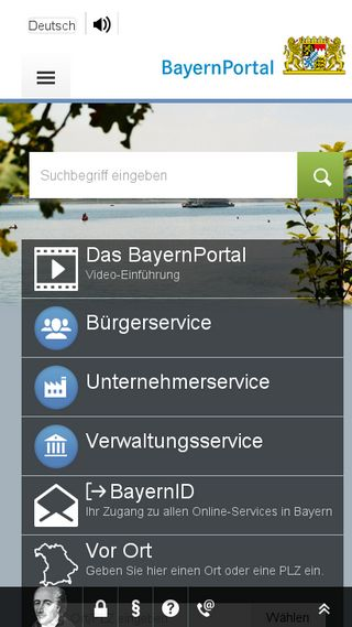 Mobile preview of freistaat.bayern