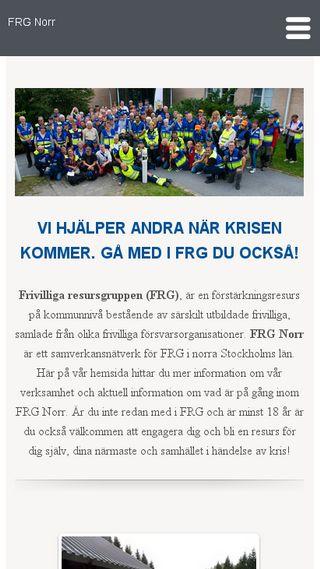 Mobile preview of frgnorr.se