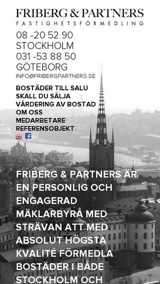 Mobile preview of fribergpartners.se