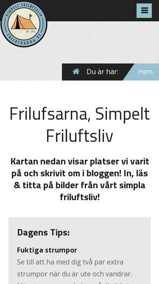 Mobile preview of frilufsarna.se