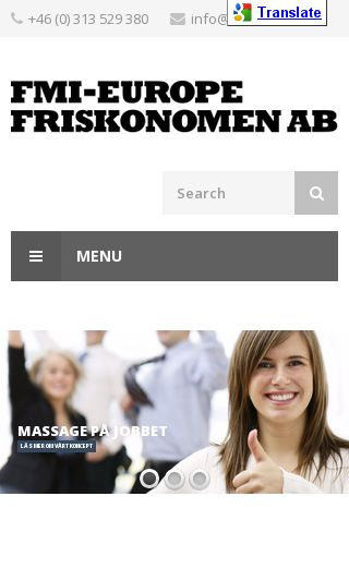 Mobile preview of friskonomen.se