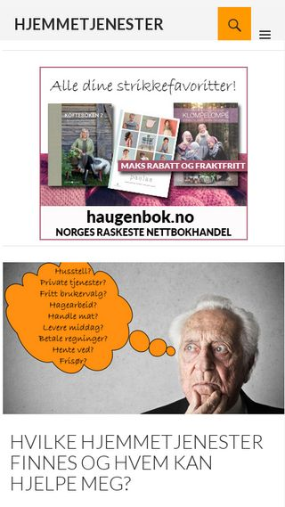Mobile preview of frittbrukervalgportalen.no
