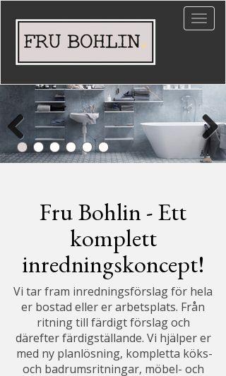 Mobile preview of frubohlin.se