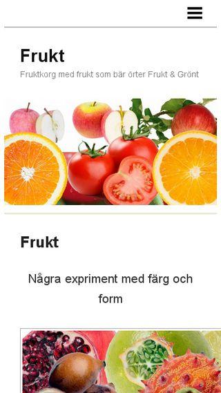 Mobile preview of frukt.n.nu