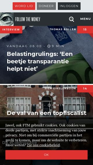 Mobile preview of ftm.nl