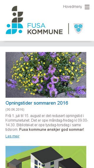 Mobile preview of fusa.kommune.no