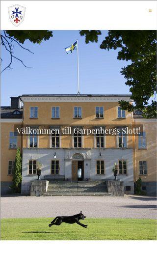 Mobile preview of garpenbergsherrgard.se