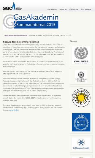 Mobile preview of gasakademin.se