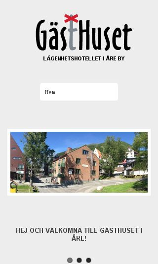 Mobile preview of gasthuset.se