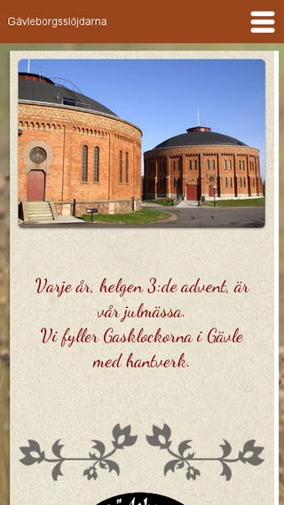 Mobile preview of gavleborgsslojdarna.se