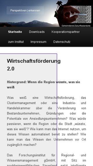 Mobile preview of geheimdienst-zukunftsstandorte.de