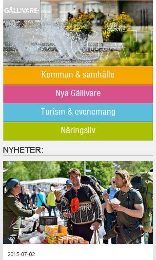 Mobile preview of gellivare.se