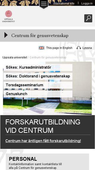 Mobile preview of gender.uu.se