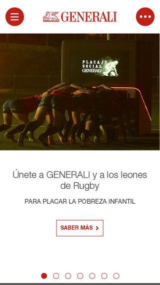 Mobile preview of generali.es
