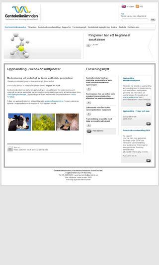 Mobile preview of genteknik.se