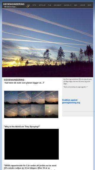 Mobile preview of geoengineering.n.nu