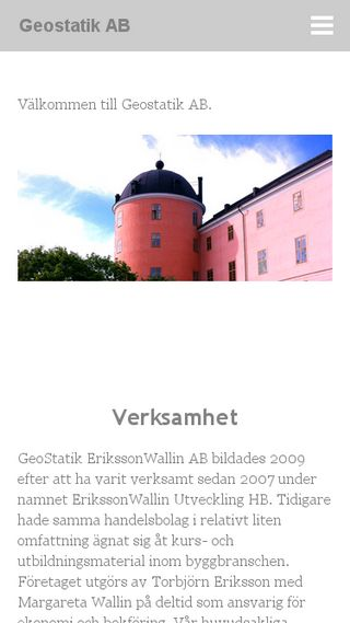 Mobile preview of geostatik.se
